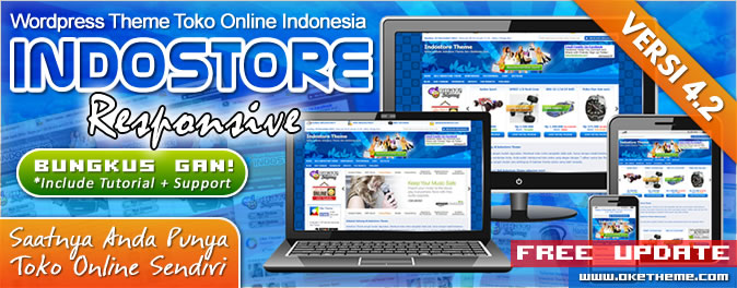 IndoStore Theme Toko Online WordPress